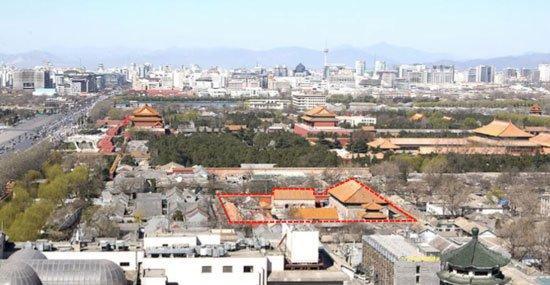 Музей Гуггенхайма - Пекин. Место будущего строительства