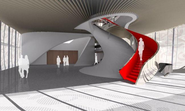 MUMUTH – Дом музыки и музыкальный театр © UNStudio