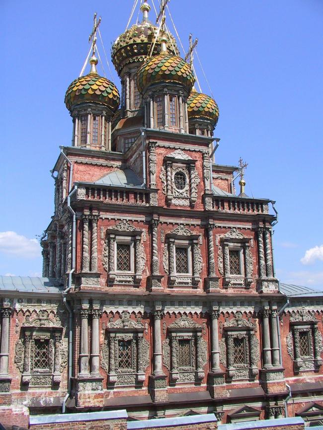 Церковь Рождества (Строгановская) в Нижнем Новгороде. Фотография Юлии Тарабариной