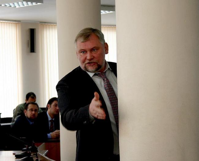 Мэр Вадим Евгеньевич Булавинов. Фотография Марины Игнатушко