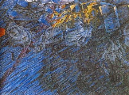 Умберто Боччони. Состояния души. 1911
