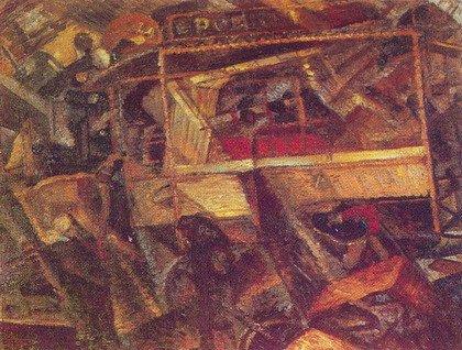 Карло Карра. То, что мне рассказал трамвай. 1910-1911