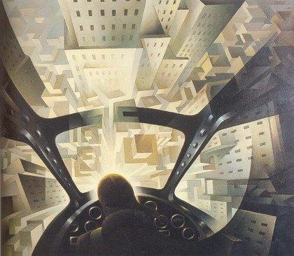 Туллио Крали. Погружаясь в городское пространство. 1939