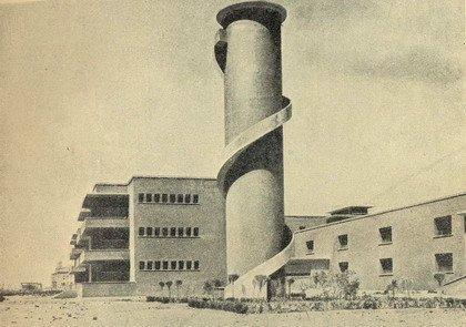 Анджоло Мандзони. Морская колония в Каламброне. 1925-35