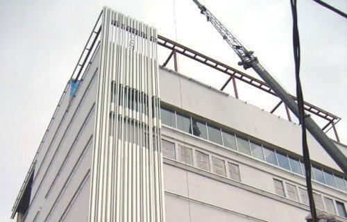 Драматический театр Уайли. в процессе строительства