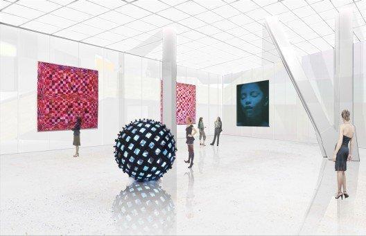 Музеум Плаза. Белая галерея