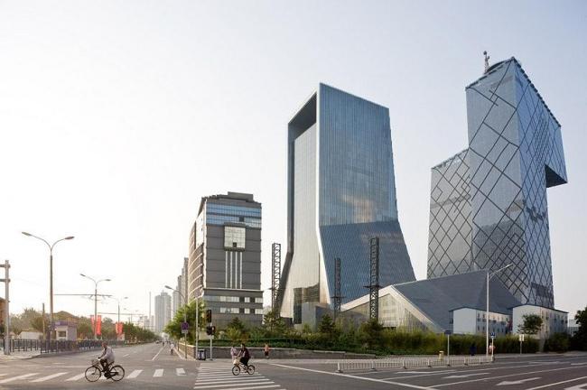 Комплекс Центрального Китайского Телевидения. Здание Телевизионного дворца культуры © Iwan Baan