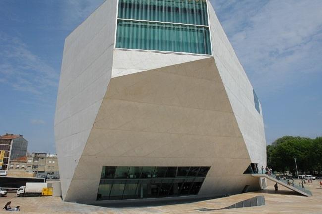 Дом музыки в Порто. Фото: Osvaldo Gago via Wikimedia Commons. Лицензия CC BY-SA 3.0