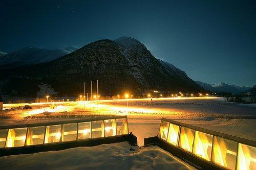 Норвежский музей ледников в Фьерланде. 1991-1993