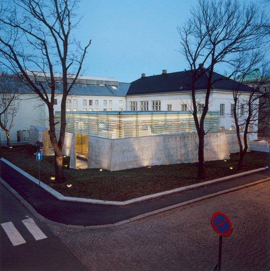 Национальный музей - отдел архитектуры. Павильон Ультвейт-Моэ