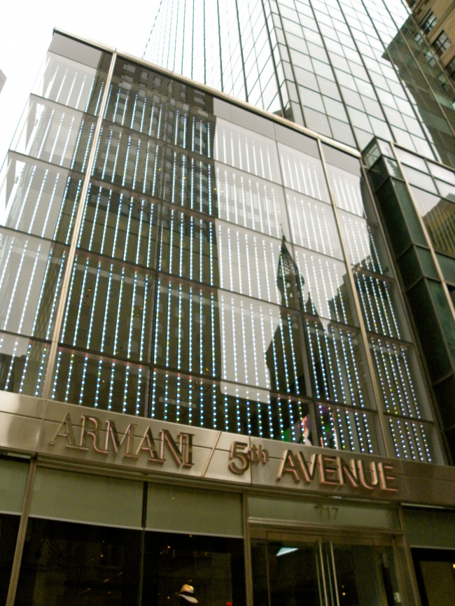 Бутик Armani 5th Avenue. Фото: JasonParis via flickr.com. Лицензия CC BY 2.0