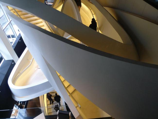 Бутик Armani 5th Avenue © Massimiliano Fuksas architetto