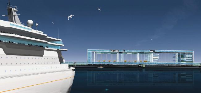 Морской пассажирский терминал в Санкт-Петербурге © ТПО «Резерв»