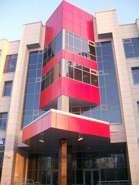 Административно-выставочный комплекс, ул. Профсоюзная, г. Москва. ОАО «Стройпроект»
