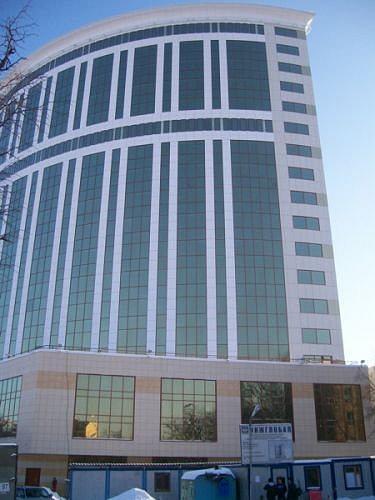 Административное здание Алексеевская Башня, г.Москва. Архитектор Юрий Черняга, ЦПИ 53
