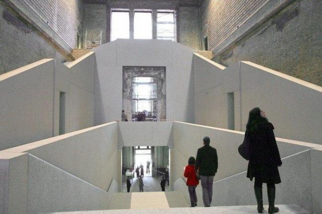 Новый музей в Берлине - реконструкция