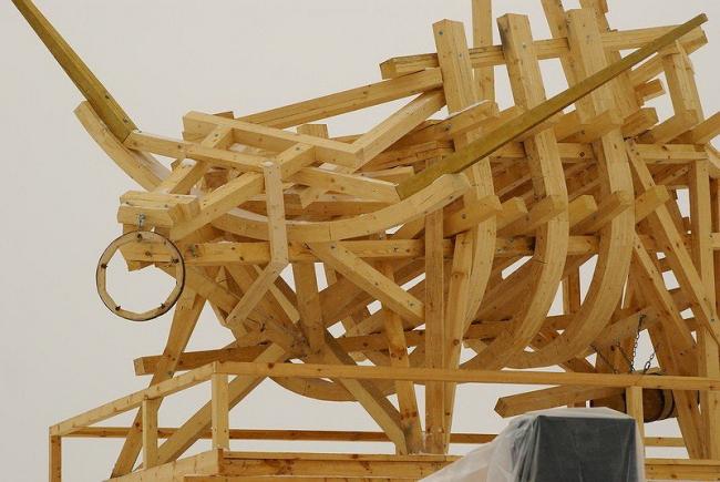 «Позолоченный телец». Василий Щетинин. фото: Михаила Мирошниченко