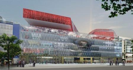 Торговый комплекс MyZeil. Проект