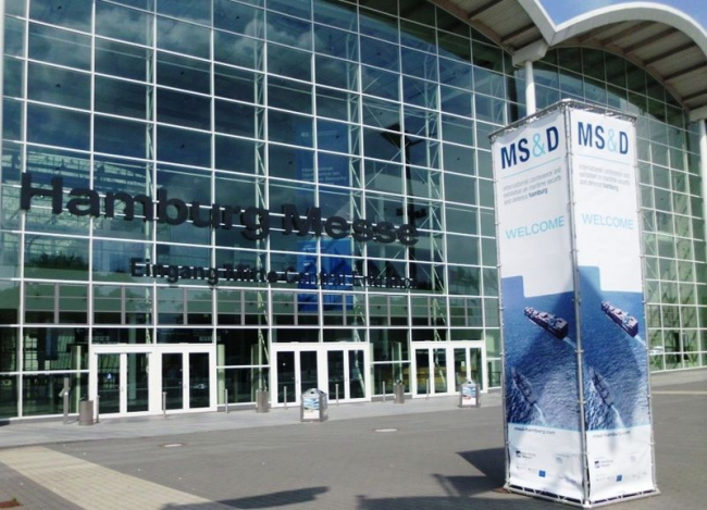 Новая Гамбургская ярмарка - выставочный комплекс. Фото: Dr. Karl-Heinz Hochhaus via Wikimedia Commons. Лицензия GNU Free Documentation License, Version 1.2