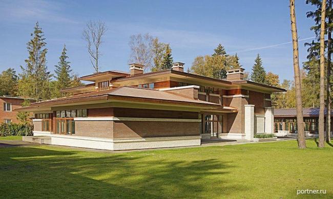 Частный дом в коттеджном поселке Риита, Московская область. Архитектурное бюро Портнер (Portner Architects)