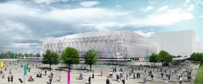 Лондонский Олимпийский баскетбольный стадион