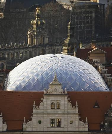 Перекрытие Малого двора замка в Дрездене
