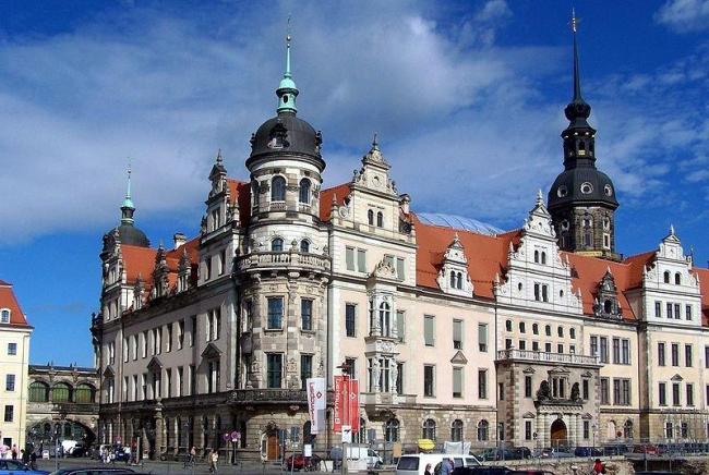 Замок в Дрездене. Современное состояние