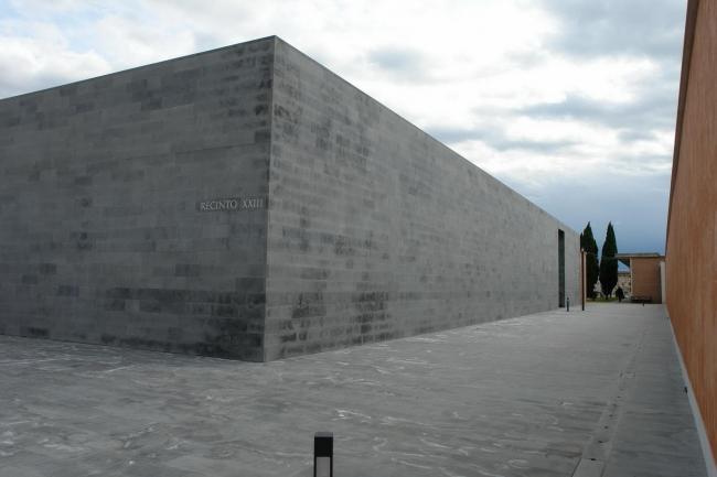 Кладбище Сан-Микеле - новая территория © Нина Фролова