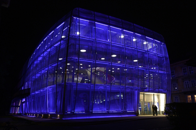 MUMUTH - Дом музыки и музыкальный театр. Фото: KUG/Alexander Wenzel via Wikimedia Commons. Лицензия CC BY-SA 3.0