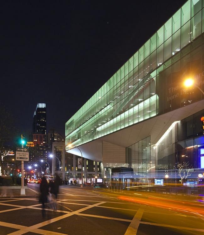 Центр Линкольна - реконструкция. Зал Элис Талли. Фото: Robert Mintzes via Wikimedia Commons. Лицензия CC-BY-SA-3.0