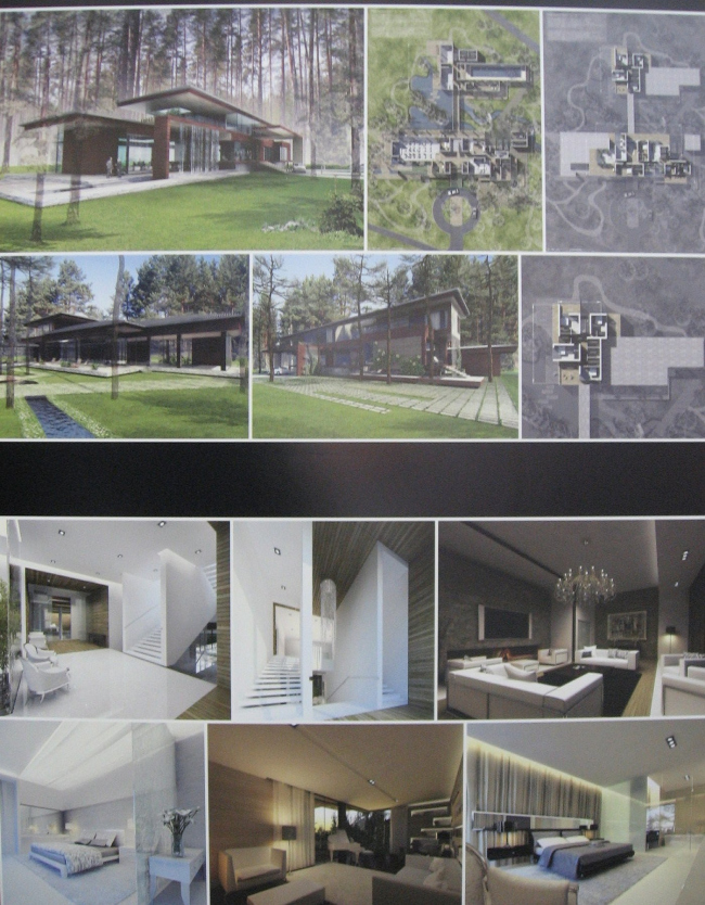 III место. «Проект-идея загородного дома». АМ «А-ЛЕН». Дом в послеке Репино.