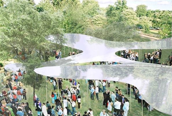 Летний Павильон Галереи Серпентайн 2009. Проект