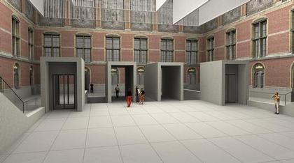 Новый Рейксмузеум. Проект. 2003