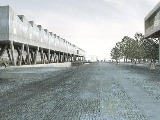 Christ Gantenbein Architects и Lie Оyen Arkitekter. Конкурсный проект Музея Мунка. 2-е место