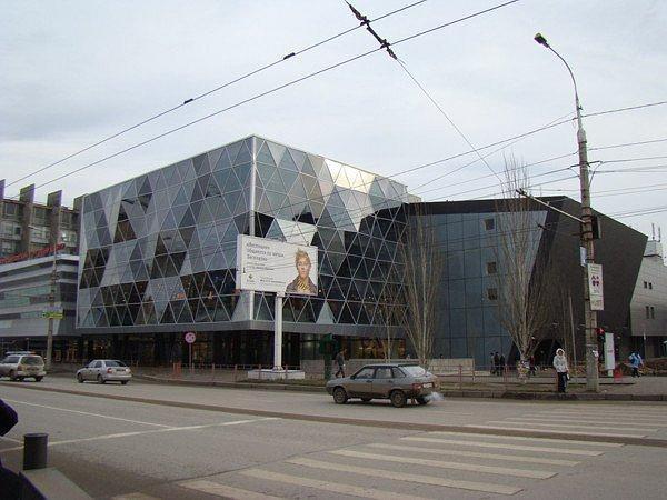Торговый центр «Ворошиловский», г.Волгоград. Архитектор: Владимир Русанов