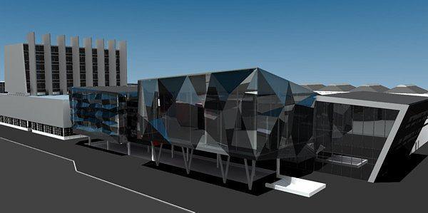 Торговый центр «Ворошиловский», г.Волгоград. З-D визуализация. Архитектор: Владимир Русанов