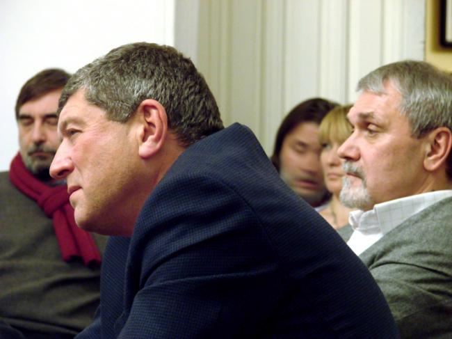 Сергей Палладин и Алексей Куренной, заместители председателя Москомархитектуры