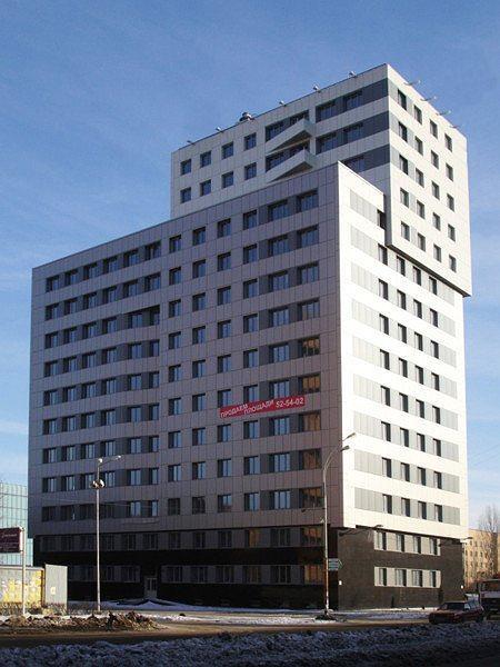 """Бизнес-центр """"PLAZA"""", г.Тольятти/ Архитектор: В.Артамонов"""