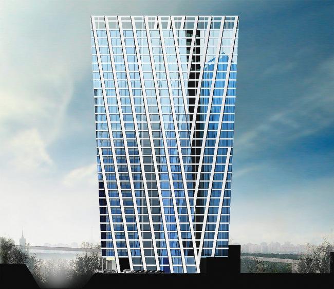 Комплекс офисных зданий в Бумажном проезде © ТПО «Резерв»
