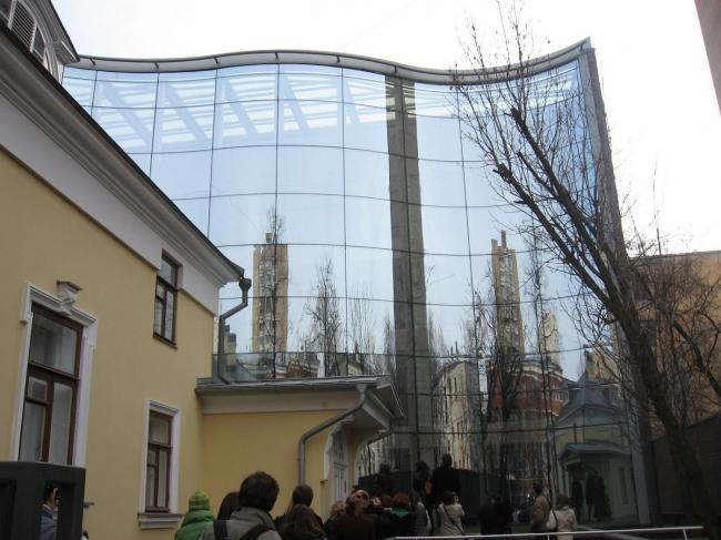 Офисное здание в Гагаринском пер., 25. «Курортпроект», маст. №7.
