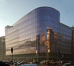 Офисное здание на 1-ой Тверской-Ямской Проектная организация: Моспроект-2, мастерская № 18. Фото с сайта «Другая Москва»