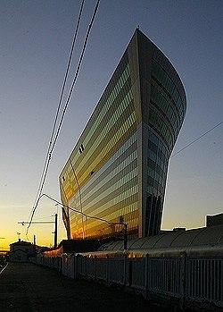 Торгово-деловой центр «Китеж» Проектная организация: Моспроект-4.Фото с сайта «Другая Москва»