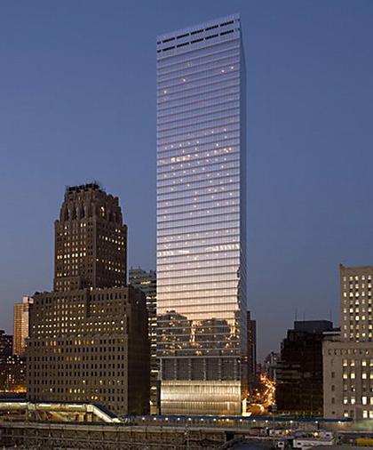 SOM. ЦМТ строение 7. Нью-Йорк