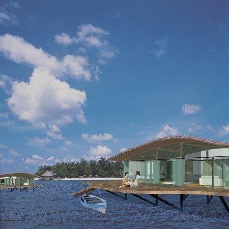 Курортный комплекс на Мальдивских островах - Хадахаа
