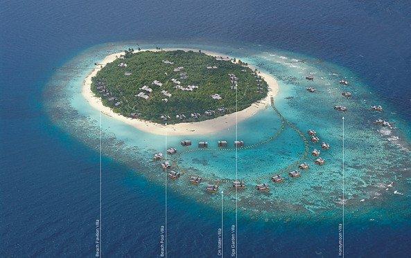 Курортный комплекс на Мальдивских островах - Конотта