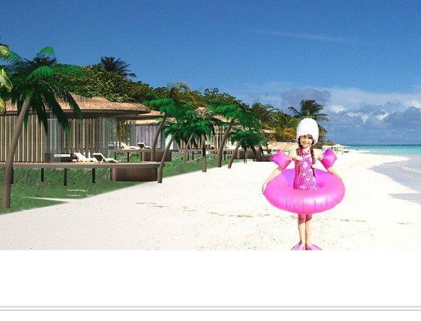 Курортный комплекс на Мальдивских островах - Рандхели