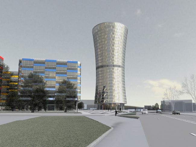Деловой центр «Кронштадтский». Новый вариант (2009)