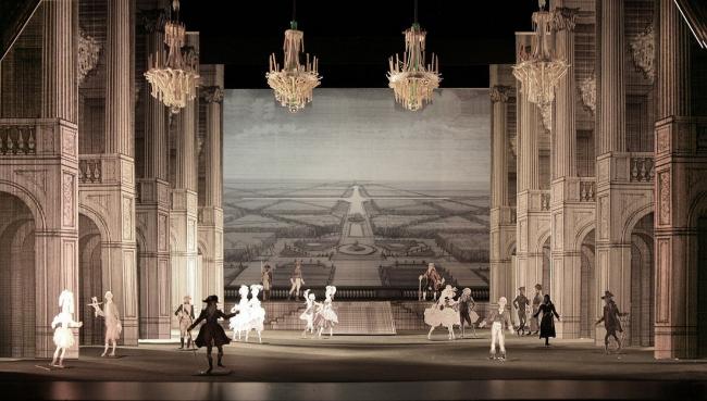 Версаль. Фотография с макета