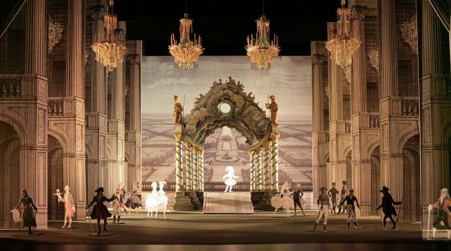 Версальский театр. Фотография с макета