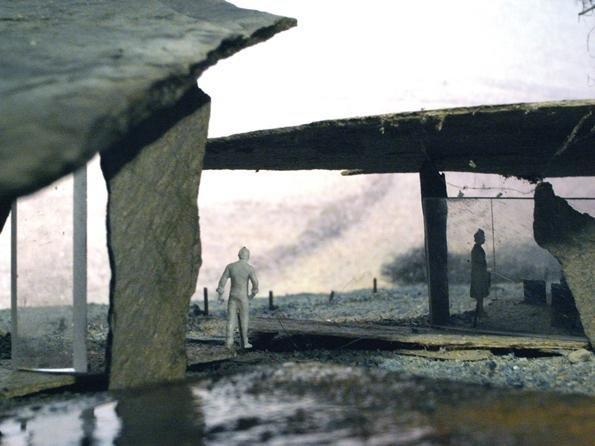 Загородный дом Secular Retreat в графстве Девон. Эскиз проекта